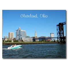 Cleveland Scenic River Postcard
