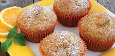 Pomarańczowe babeczki z oliwą Muffin, Breakfast, Food, Morning Coffee, Essen, Muffins, Meals, Cupcakes, Yemek
