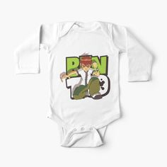 'Ben 10 and Gwen kids' Kids Clothes by StefaniaAlina Ben 10 And Gwen, Baby Onesie, Simple Dresses, V Neck T Shirt, Mothers, Baby Kids, Classic T Shirts, Printed, Children
