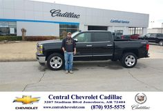 https://flic.kr/p/EmVE6F | Happy Anniversary to Rhett on your #Chevrolet #Silverado 1500 from Derek Headley at Central Chevrolet Cadillac! | deliverymaxx.com/DealerReviews.aspx?DealerCode=A020