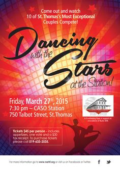 Dancing with the Stars at the Station March 27, 2015   7:30p.