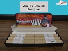 #Fontänen von Apel #Feuerwerk: Edle Fontänen in unterschiedlichen Effektvariationen verfügbar. #Röder, #Onlineshop, #Silvester, #Neuheiten