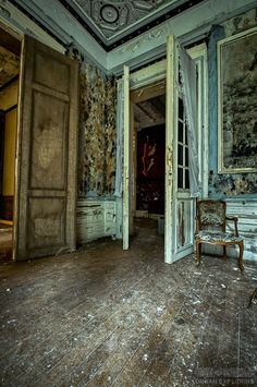 """Altes Herrenhaus"", Lost Places Fotografie Holger Bär #photography #urban #exploring"