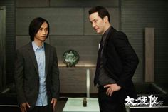 Keanu Reeves & Tiger Chen in Man of Tai Chi