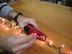 light keeper pro mini christmas light tester youtube uploaded dec 11 2008