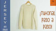Knitting Videos, Crochet Videos, Knit Leg Warmers, Knit Crochet, Men Sweater, Unisex, Pullover, Pattern, Sweaters