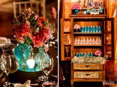 Casamento Sheila e Alexandre | Blog Site da Noiva - Decoração Azul e Rosa