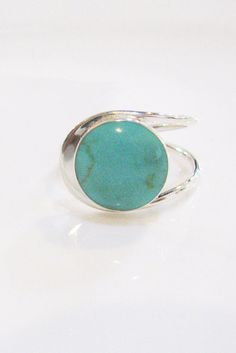 Turquise ring,Sterling silver ring,Adjustable ring,Unique Turquoise Jewelry ,Silver ring,Turquoise Jewelry ,December Birthstone Turquois,