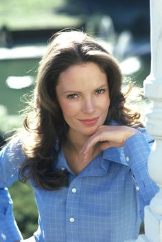 Jaclyn Smith. I was hoping she would adopt Farrah Fawcett's philosophy on (no) bra wearing.