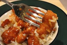 Crockpot Orange Chicken:  This was also a delicious dish! However, my timing was a bit off and by the time we actually got to eat it (my husband was late coming home) it tasted like bad, dry Chinese food. So, don't cook it too long, check it every hour or so and when the sauce is nice and creamy and a LITTLE sticky, EAT!