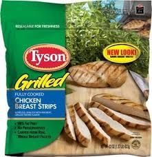 Tyson Grilled Chicken Strips
