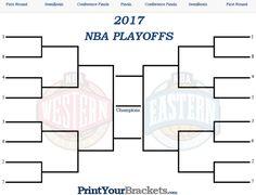 NBA Playoff Bracket - 2017