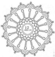 Free Crochet Doily Patterns, Crochet Snowflake Pattern, Crochet Stars, Crochet Snowflakes, Crochet Diagram, Crochet Motif, Crochet Doilies, Crotchet Patterns, Small Crochet Gifts