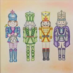 Johannas Christmas Colouring