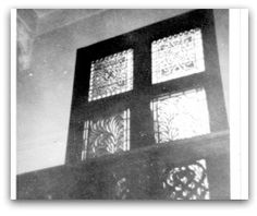 'Abdu'l-Bahá spoke from this balcony during the nineteen-day Feast held in Mrs. Goodall's home