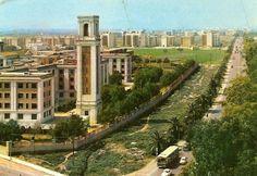 Avenida del Cid. Finales de los años 50 Alicante, Gaudi, Valencia City, Hospital General, Aragon, The Province, Murcia, Where To Go, Rio De Janeiro