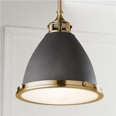 This mixed metal schoolhouse pendant combines a modern silhouette and the perfect combinations of metals for your kitchen or workplace. Kitchen Lighting, Metal Lighting, Pendant Light, Kitchen Pendant Lighting, Cool Lighting, Contemporary Pendant Lights, Carriage Lights, Schoolhouse Pendant, Light Fixtures