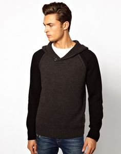 River Island Hoodie with Contrast Sleeves