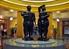 Fernando Botero. Adan y Eva