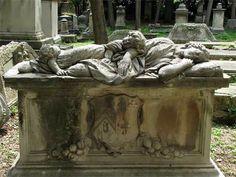 Mary Champion's grave, Old English Cemetery, via Verdi