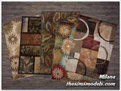 Rugs for The Sims 4 by Milana - 27 Апреля 2015 - The Sims Models