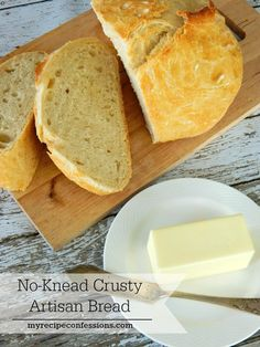 This No-Knead Crusty Artisan Bread is beyond amazing! It is so easy to make and it tastes like you have been slaving in the kitchen all day.