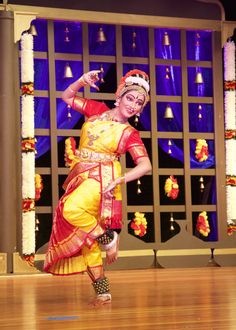 MILFORD — A 15 year-old Lauralton Hall student recently performed a Kuchipudi Rangapravesam, a classical dance from India, the culmination of a year of study.  Yashaswini Soleti, a Lauralton junior, gave the three-hour performance accompanied by a live Indian band, during a program at Joseph A. Foran High, her parents said.