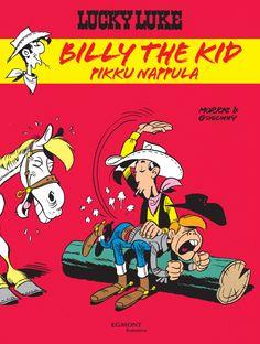 Lucky Luke: Billy the Kid, pikku nappula. #egmont #sarjakuva #sarjis