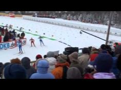 World Cup IBU Biathlon Competition Sports Video In Northern Maine