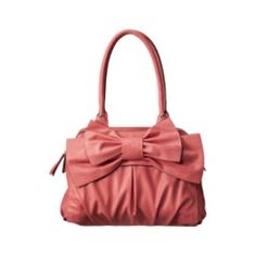 Melie Bianco Amelie Handbag in Pink. I love bows! And from Target.