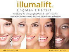Award-winning skincare in the anti-aging category, illumalift ™ was created to address the needs of people who want to look youthful and fresh, but without the look of wearing makeup. Check out our #Kickstarter campaign to know more: