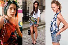 Como transformar lenços em roupas para o verão