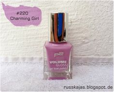 .Russkajas Beauty.: NOTD - P2 Volume Gloss Nail Polish # 220 Charming ...