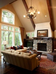 Vaulted Ceiling Design, Pictures, Remodel, Decor and Ideas - page 3