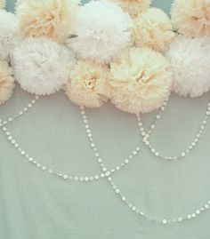 pom pom decor at weddings tissue pom wedding decor ideas 100 layer cake pearl bridal shower shower
