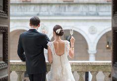 Bride & groom // photo: Ned Jackson Photography // TheKnot.com