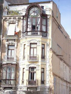 Beautiful old window in Cartagena, #Spain by Karen V Bryan, via Flickr