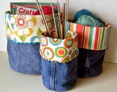 Muchas ideas para reciclar tus viejos jeans