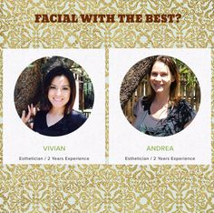 Want to have radiant skin like our Estheticians Andrea and Vivian?  We have 2 openings tomorrow with these talented beauties.  Book now @ (702) 816-5996. $20 off 1st Facial.  Expires 1-25-16.  #bestesthetician #bestfacials #organicfacial #organicbeauty #eminenceorganics #aminahsorganicskinspa
