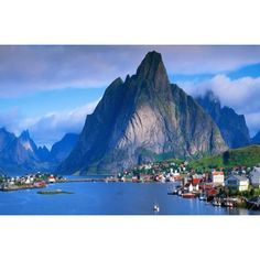Reine, Norway, Lofoten Islands, one of the world's most beautiful villages. Lofoten, Vacation Destinations, Vacation Spots, Vacations, Norway Destinations, Vacation Rentals, Holiday Destinations, Places To Travel, Places To See