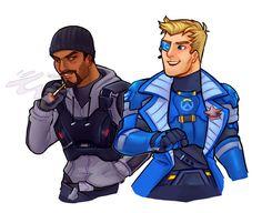 Reyes and Morrison by lutniik.deviantart.com on @DeviantArt