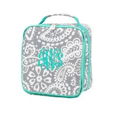 """Personalized 9"""" Lunch Bag Insulated Thermal Lunchbox Tote Bag"""