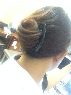 my twist hair for daily office look