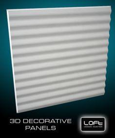 Loft-3D Dekor-12 falpanel - LOFT DESIGN GIPSZ PANELEK - A legújabb trend a belsőépítészetben! - WallArt, Loft Design 3D és Kerma műbőr falpanel és falburkolat webáruház