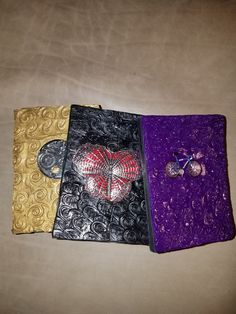 Polymer resin covered journals. 3x4 inches. email for photos of all available journals dr.alan2@gmail.com