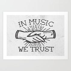In Music We Trust - $16.56