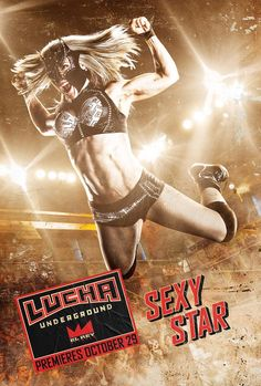 Lucha Underground introduces U. audiences to the high-flying, explosive moves of lucha libre. Lucha Underground, Wrestling Divas, Women's Wrestling, Wwe Nxt Divas, Mexican Wrestler, Dark And Twisted, Character Poses, Photo Reference, Female Reference