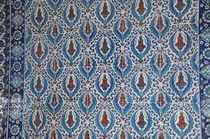 Panneau mural ( Mosquée de Rustem Pacha)