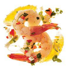 Spicy Shrimp Ceviche With Cilantro Recipe | MyRecipes