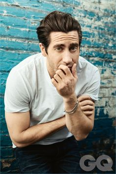 Actor Jake Gyllenhaal graces the pages of GQ Australia.